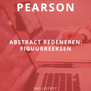 Pearson Figuurreeksen - Abstract Redeneren