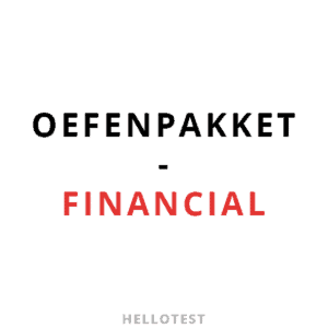 Financial assessment oefenpakket